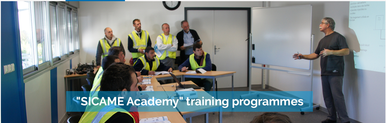 """SICAME Academy"" training programmes"